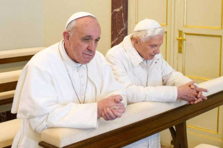 ITALY-VATICAN-POPE-FRANCIS-BENEDICT XVI