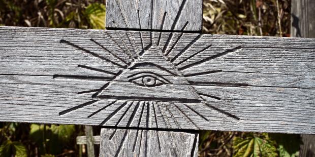 web3-wooden-cross-eye-symbol-taigi-shutterstock