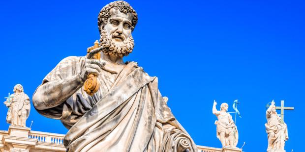 web3-saint-peters-basilica-vatican-city-statues-pope-keys-shutterstock