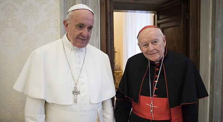 Papst-Franziskus-Kardinal-McCarrick
