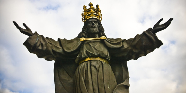 web3-jesus-christ-statue-king-crown-majesty-anilah-shutterstock